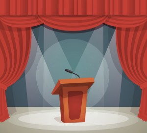Animated Podium